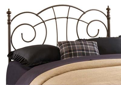 Del Rio Headboard (Metallic Brown Finish)