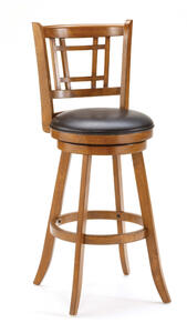 Fairfox Swivel Counter Stool (Oak Finish) - [4650-826]