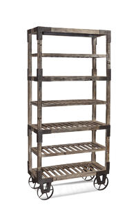 Foundry Rack (Weathered Gray Finish) - [A2045]