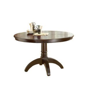 Grandbay Round Dining Table (Cherry Finish) - [4379DTB]