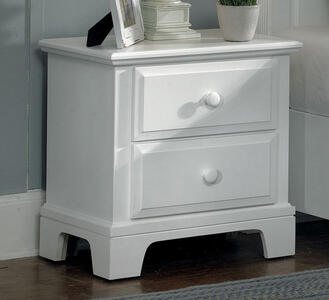 Hamilton Franklin Small Night Stand (Snow White Finish) - [BB6-224]