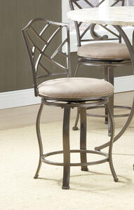 Hanover Swivel Counter Stool (Brown Powder Finish) - [4815-843]
