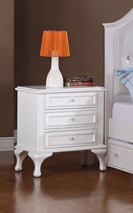 Jesse Nightstand (White Finish) - [JS700NS]