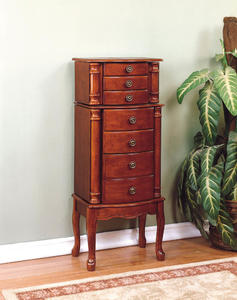 Jewelry Armoire (Cherry) - [881-315]