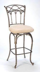 Kendall Counter Stool (Pewter & Antique Bronze Finish) - [4708-827]