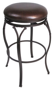 Lakeview Backless Counter Stool (Brown Finish) - [4264-828]