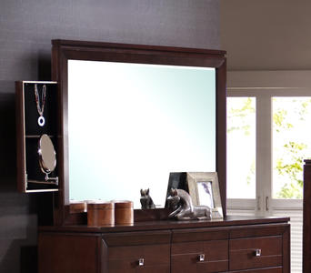 London Dresser Mirror (Espresso Finish) - [LN600MR]