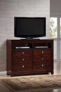 London Media Cabinet (Espresso Finish) - [LN600TV]