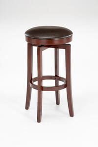 Malone Backless Counter Stool (Cherry Finish) - [63455-826]