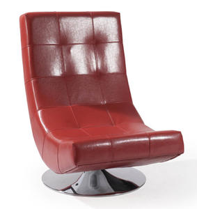 Mario Swivel Chair (Red) - [LC3634CLRE]