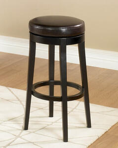 Mbs-450 Backless Swivel Counter Stool (Brown) - [LC450BABC26]