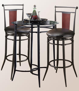 Mix-N-Match Pub Table (Black Finish)