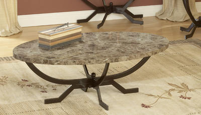 Monaco Coffee Table (Matte Espresso Finish) - [4142-880]