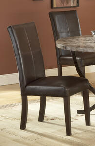 Monaco Dining Chair - Set of 2 (Matte Espresso Finish) - [4142-802]