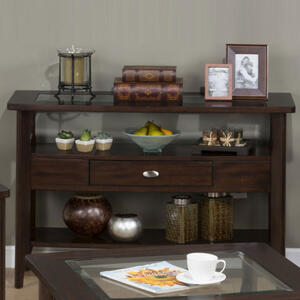 Montego Merlot Sofa Table - [827-4]
