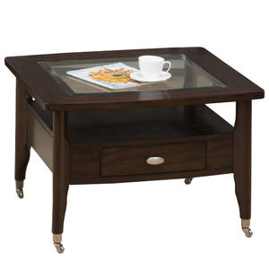 Montego Merlot Square Cocktail Table - [827-2]