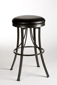 Ontario Backless Bar Stool (Pewter Finish) - [5149-830]