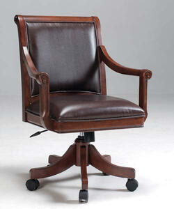 Palm Springs Chair (Medium Brown Cherry Finish) - [4185-800]