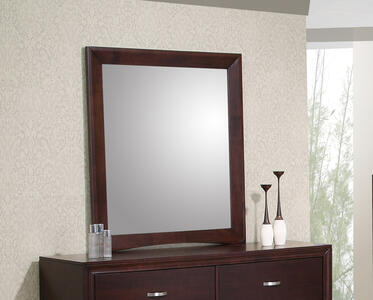 Raven Dresser Mirror (Dark Cherry Finish) - [RV100MR]