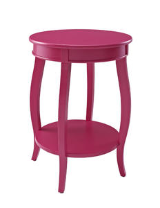 Round Shelf Table (Bubblegum) - [142-350]