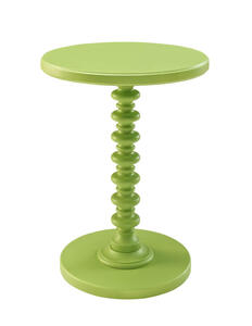 Round Spindle Table (Green) - [143-269]