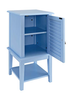 Shutter Door Table (Ocean Blue) - [254-351]