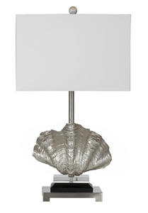 Silver Shells Table Lamp (Silver Leaf) - [L2816TEC]