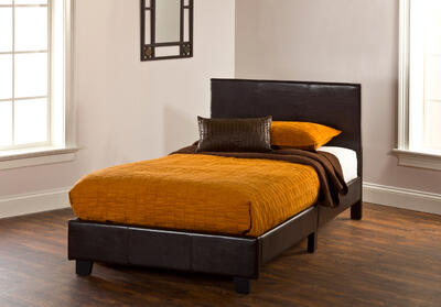Springfield Bed in a Box Bed Set - Twin (Brown Finish) - [1613-330]