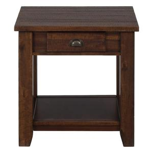 Urban Lodge Brown Casual End Table - [731-3]